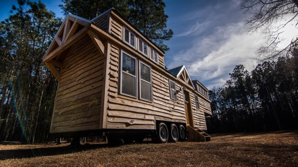 39ft Rustic Gooseneck Tiny House on Wheels For Sale in Conway South Carolina 007