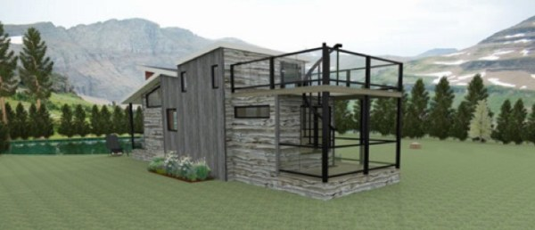 400 sq ft Denali Tiny House by Utopian Villas 002
