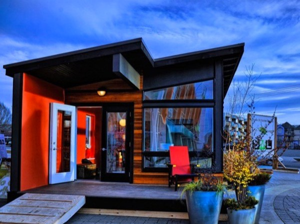Tiny Home Designs: 400 Sq. Ft. Studio37 Modern Prefab Cabin