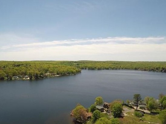 411 Sq Ft Lake Front Cottage For Sale in Columbia CT