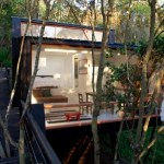 430 Sq. ft. Boardwalk Modern Cabin called Casa Quebrada in Chile