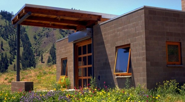 450 Sq. Ft. Concrete Block Tiny Home Called the Marquand Retreat 01
