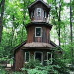 450 Sq. Ft. Tiny Castle Cabin 001