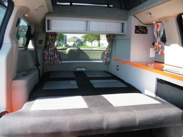 5 Mars RV Dodge Caravan Motorhome Conversion 0014