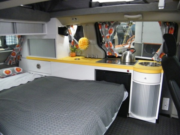 5 Mars RV Dodge Caravan Motorhome Conversion 0024