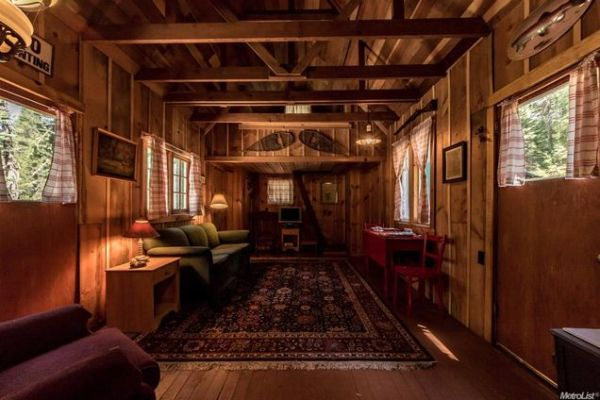 500 Sq. Ft. Forest Service Cabin For Sale 005