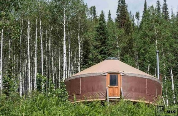 500 Sq. Ft. Yurt on 31 Acres in Colorado