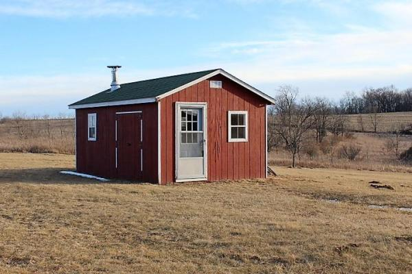 500sf Tiny Log Cabin in Viola WI For Sale 008