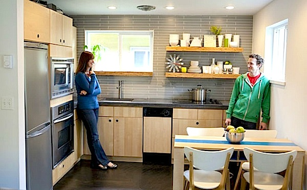 Superieur 600 Sq. Ft. Small Houseu0027s Awesome Kitchen