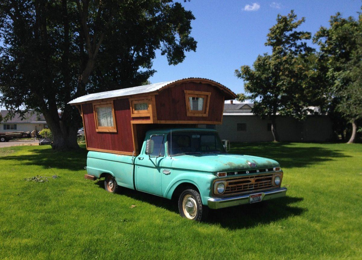 1966 Ford F100 Gypsy Camper House Truck