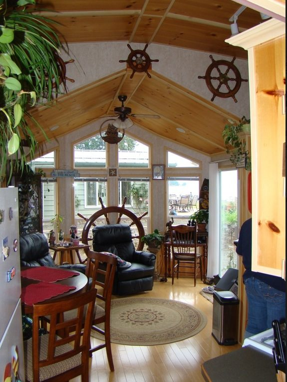 690 sq ft park model cottage for sale - What does 500 square feet look like ...