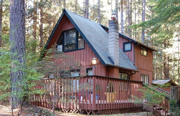 720 Sq Ft Washington Cabin