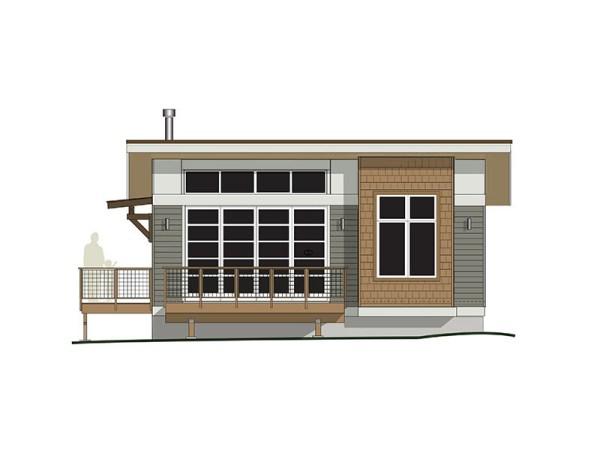800 Sq. Ft. Contemporary Cabin