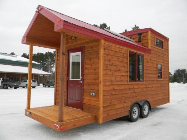 8x22 Tiny Cabin on Wheels 001