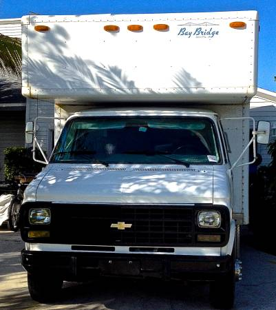 95 Chevy G30 DIY Box Truck Motorhome RV For Sale 002
