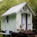 98 Sq Ft Historic Simple Tiny House on Wheels 0057
