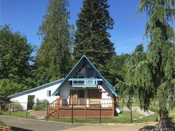 A-frame Cabin For Sale 001
