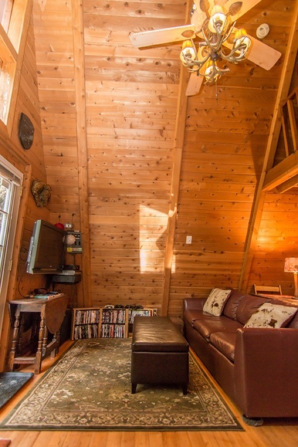 580 Sq Ft Off Grid A Frame Cabin For Sale In Skykomish WA