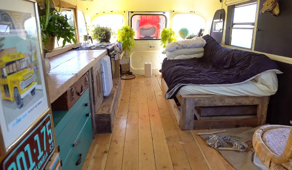 Aaron school bus tiny house conversion - Exploring Alternatives 3