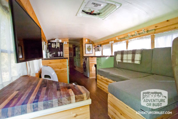 Adventure Or Bust School Bus Conversion Tour