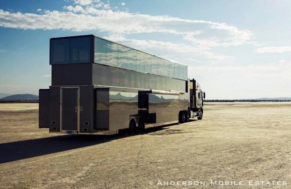 Anderson Mobile Estates Double Decker Semi Trailer 18 Wheeler Conversion 010