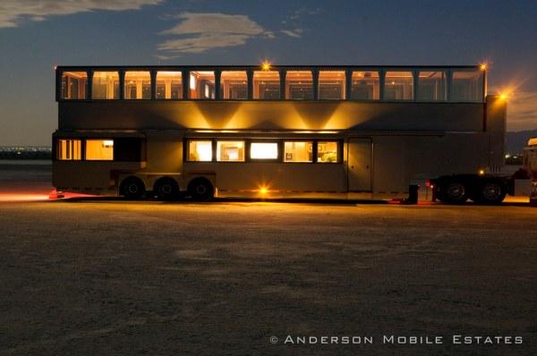 Anderson Mobile Estates Double Decker Semi Trailer 18 Wheeler Conversion 02