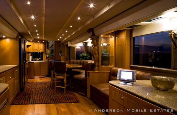 Anderson Mobile Estates Double Decker Semi Trailer 18 Wheeler Conversion 06