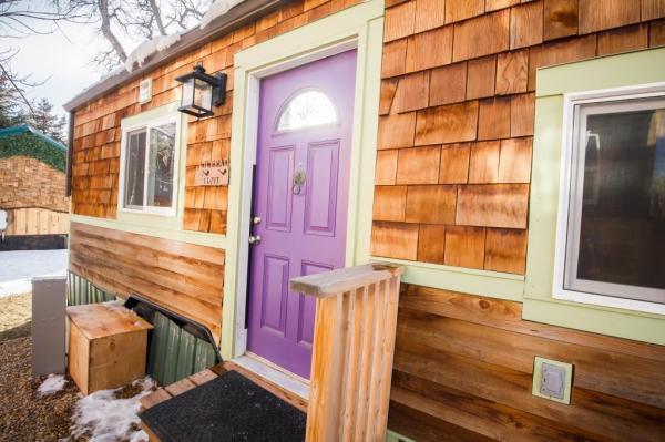 Anita's Lilypad Tiny House Now at Wee Casa Tiny House Resort