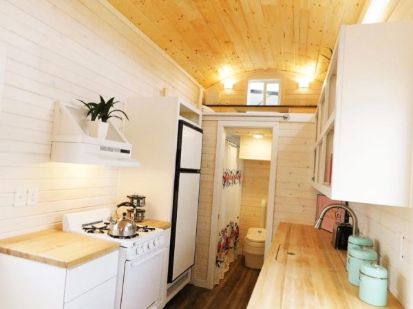 Artist 26ft Tiny House RV by Tiny Idahomes 005
