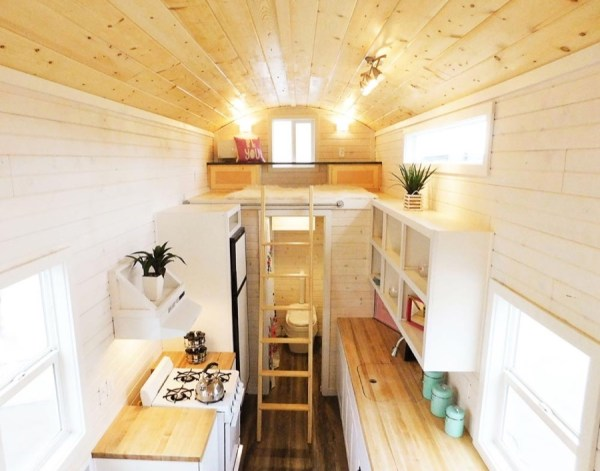 Artist 26ft Tiny House RV by Tiny Idahomes 007