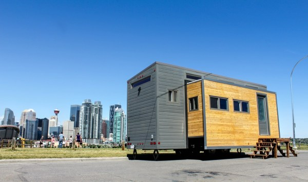 Aurora Tiny House That Expands with Huge Slide Outs the Aurora THOW 001
