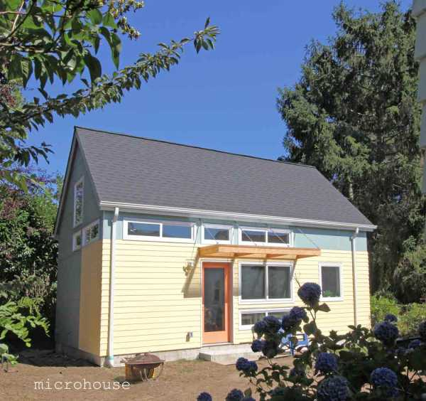 backyard cottage recording studio