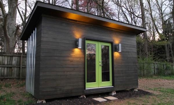 Tiny Home Designs Plans: Backyard Studio Tiny House Plans