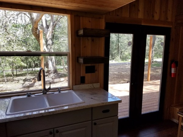 Beautiful 28ft Cedar Tiny House with Custom Deck by KJE Tiny Homes 003