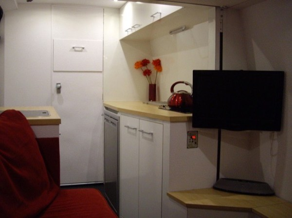 Beautiful DIY Stealth Sprinter Motorhome Conversion 005