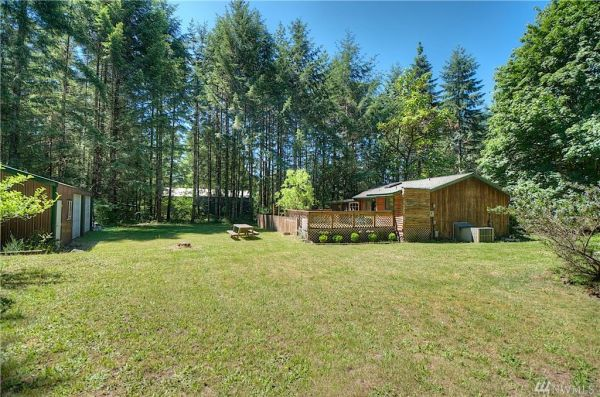 Beautiful Little Cabin on 1 Acre with Separate Garage in Shelton, WA