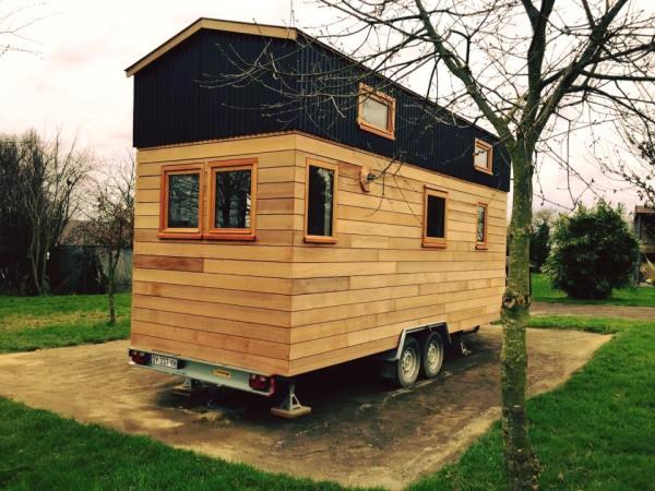 Beautiful Tiny Home on Wheels by La Tiny House 001