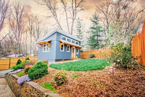 Blue ADU Tiny House by Nanostead near Downtown Asheville 0010