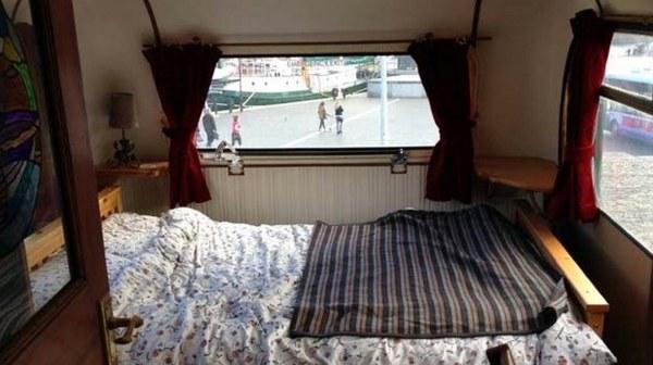 Bristol Couple's Double Decker Bus Conversion 03