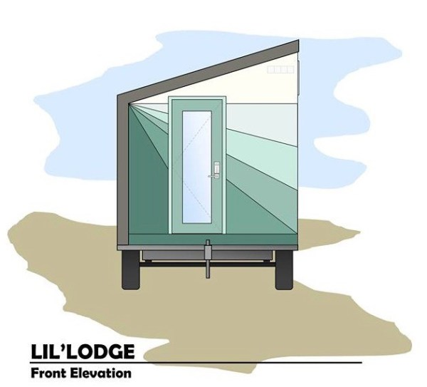 Brother and Sisters Lil Lodge Tiny House on Wheels Project 0015