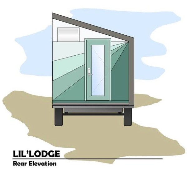 Brother and Sisters Lil Lodge Tiny House on Wheels Project 0016