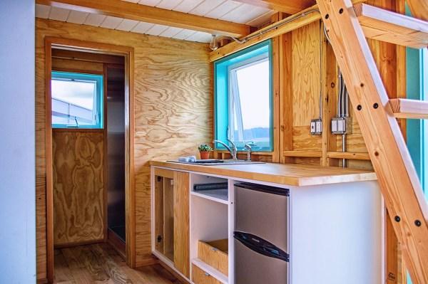 Bunk Box Modern Tiny House on Wheels Plans
