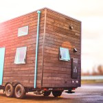 Bunk Box Modern Tiny House on Wheels