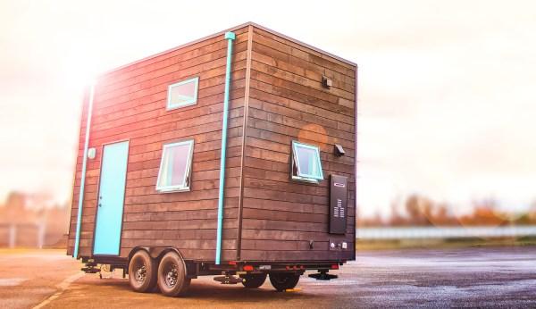 Bunk Box Modern Tiny House on Wheels