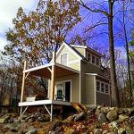 Butler Island Tiny Cabin by VT Architects 001