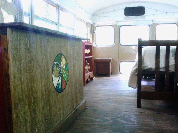 Chelie's Simple Rustic School Bus Conversion 008