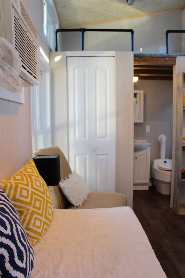 Chic Shack Yellow THOW by Mini Mansions Tiny Home Builders 0014