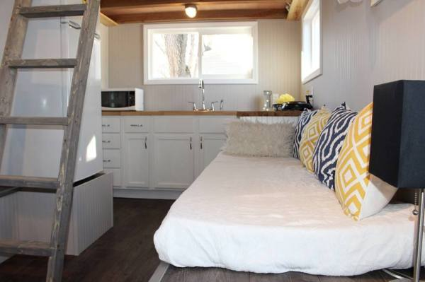 Chic Shack Yellow THOW by Mini Mansions Tiny Home Builders 005