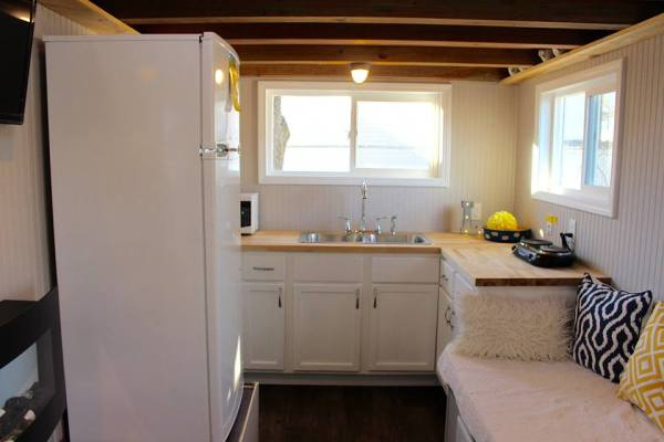 Chic Shack Yellow THOW by Mini Mansions Tiny Home Builders 007