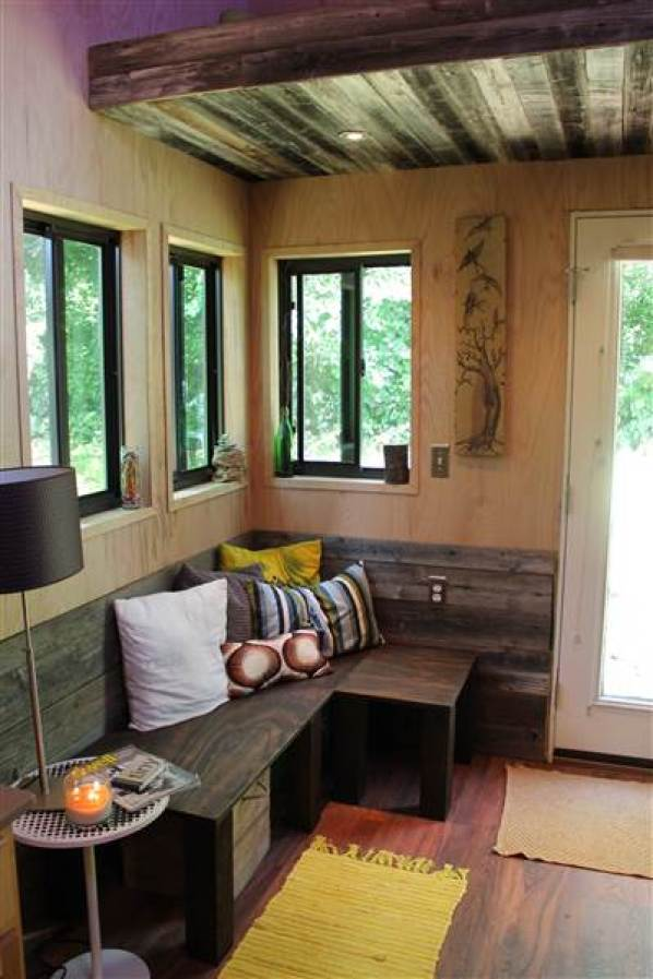 College Student Builds 145 Sq. Ft. Tiny House-003